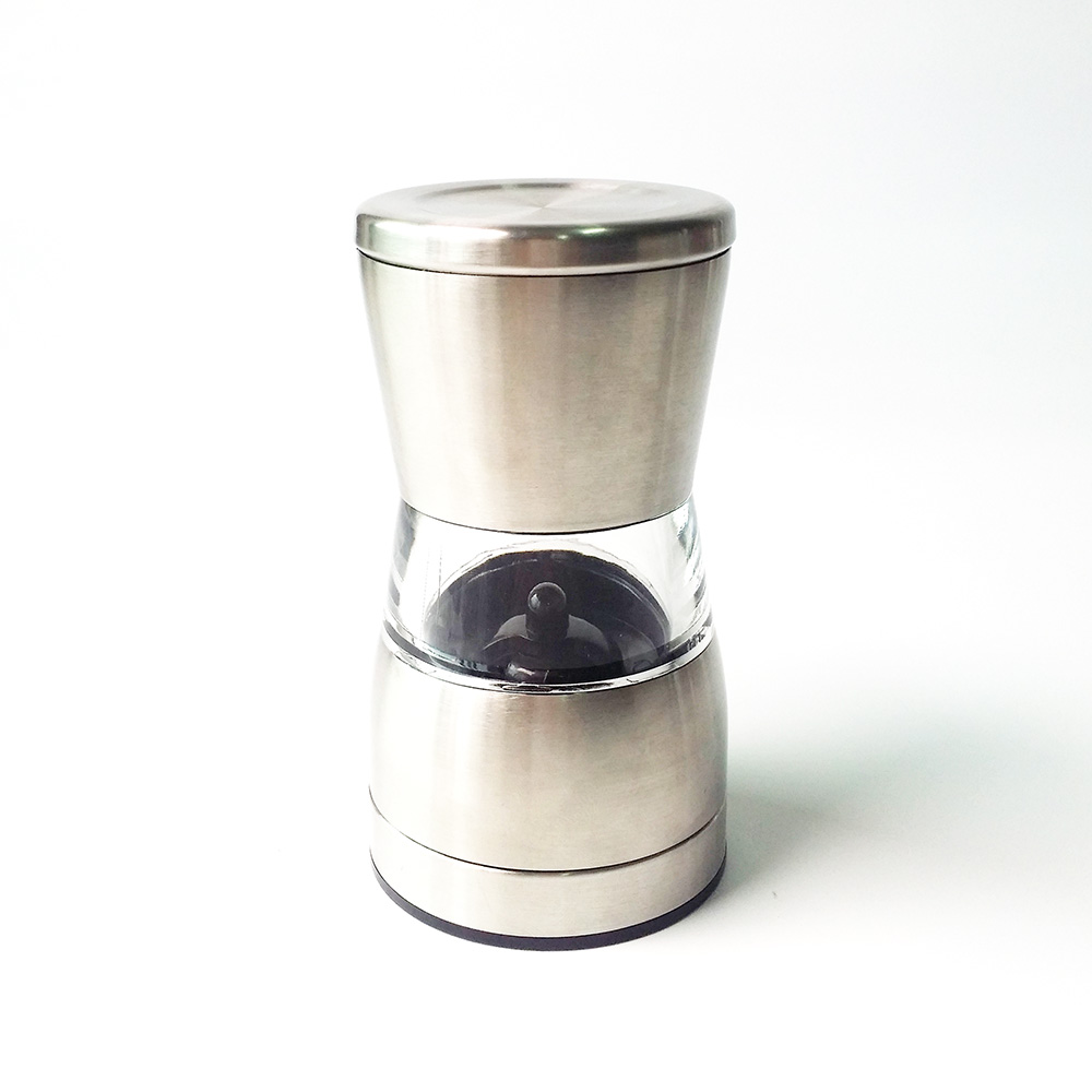 hand stainless steel salt grinder
