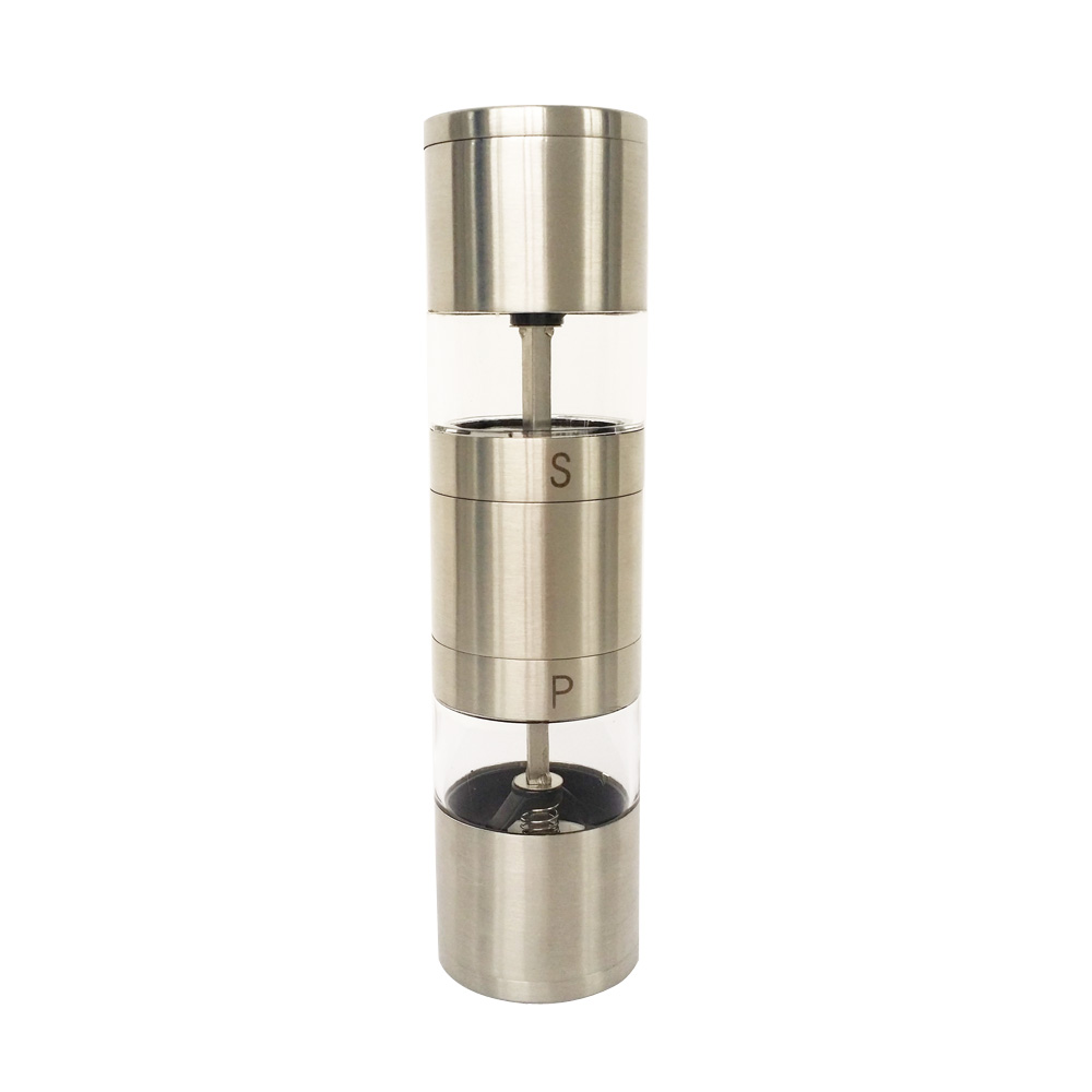 best 2 in 1 manual salt and pepper grinder