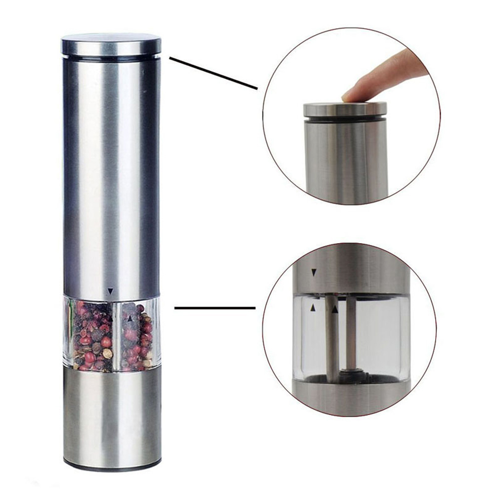 high quality automatic push electric peppermill