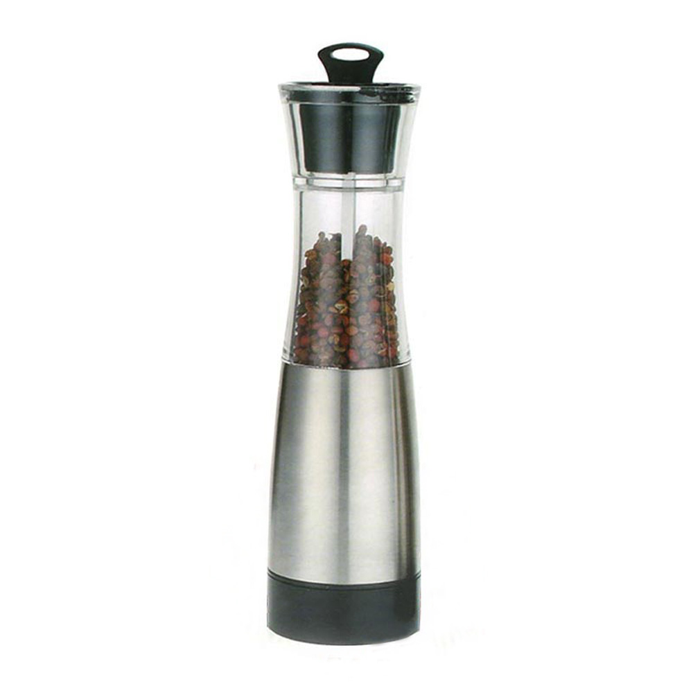 battery powered gravity pepper mill grinder