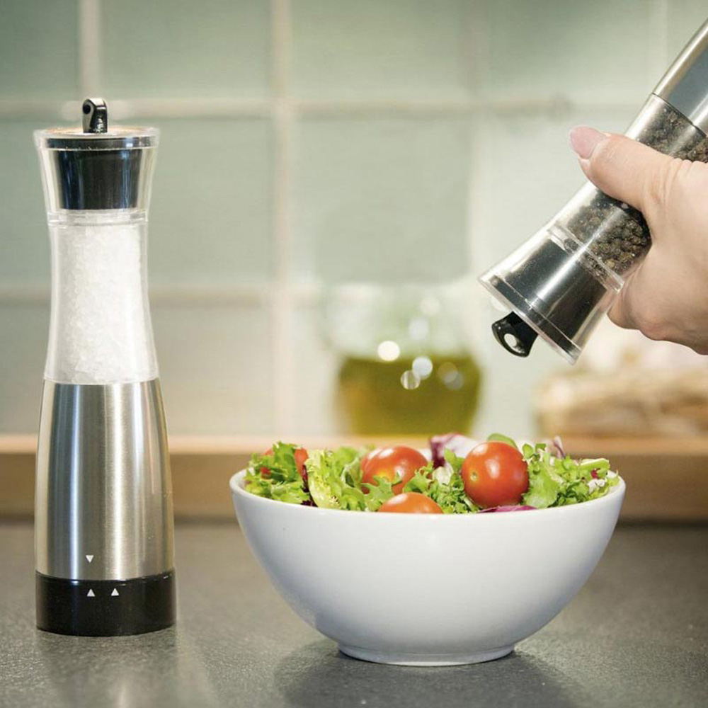 Gravity Electric Salt Pepper Grinder set