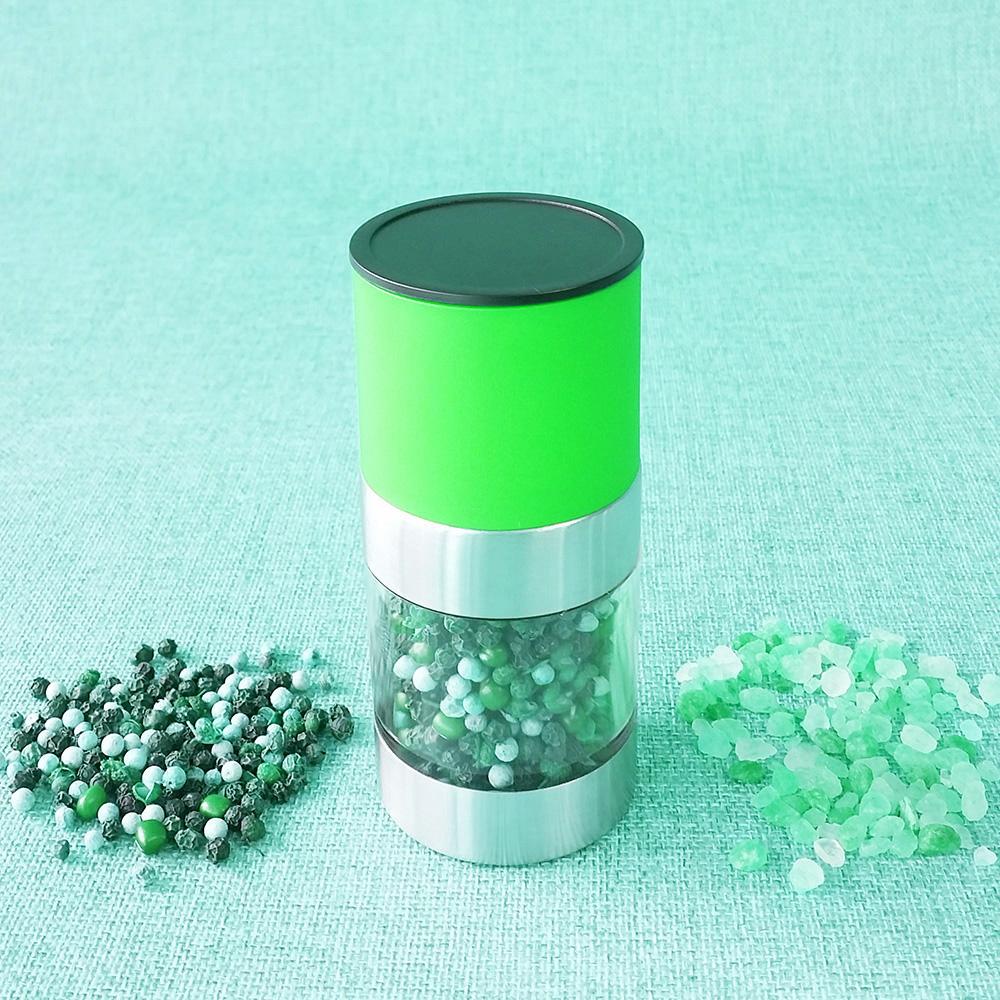 조그마한 플라스틱 고추 밀러 소금 분쇄기
