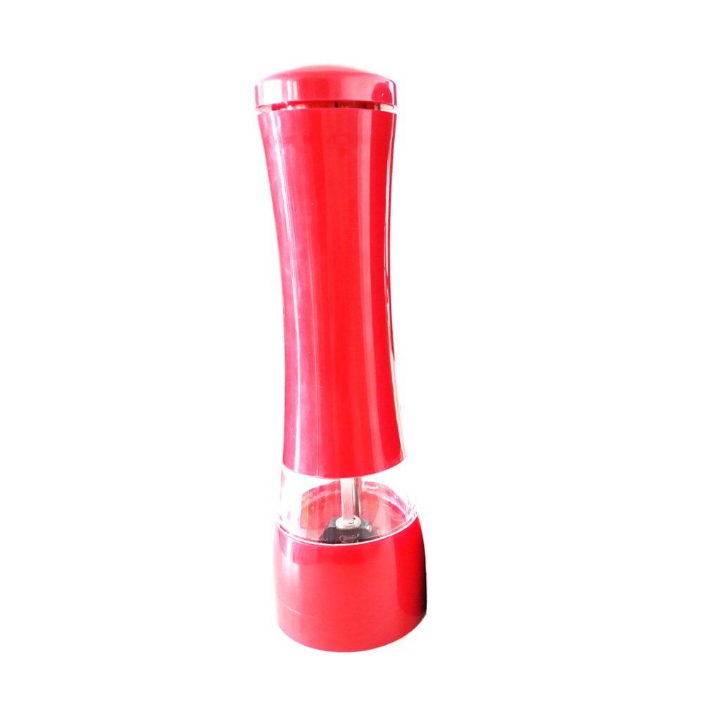 new plastic salt pepper grinder with light