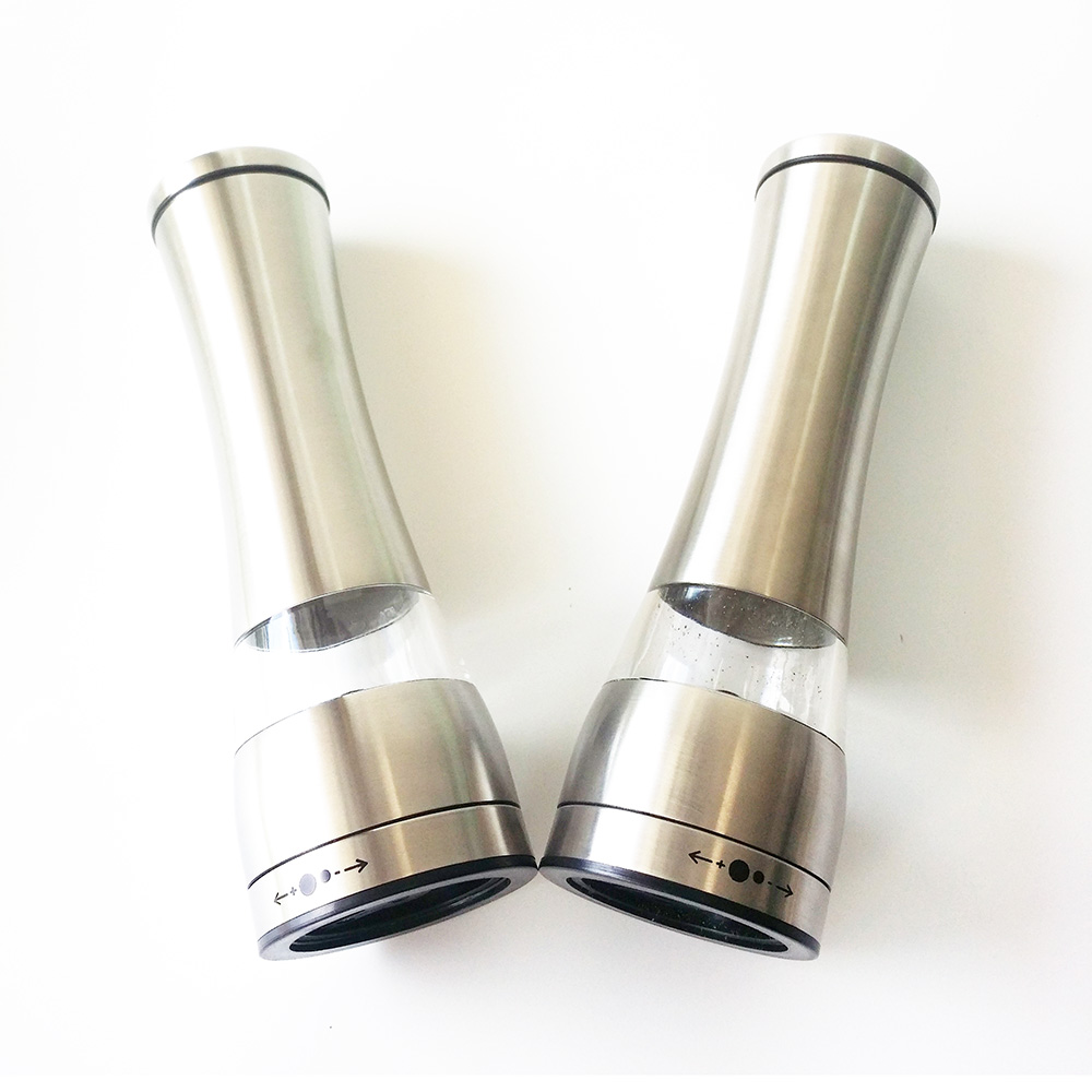 best hand pepper grinder stainless steel