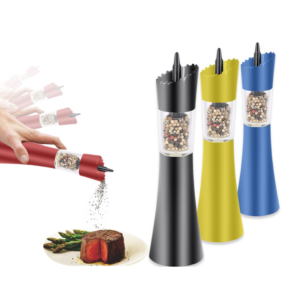 2017 new electric gravity pepper mill grinder