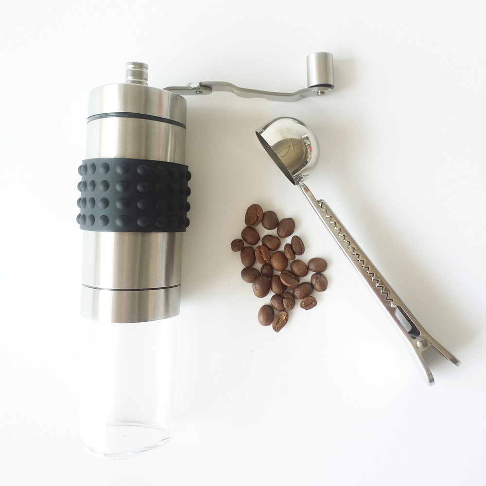 triangle shape new hand coffee mill grinder