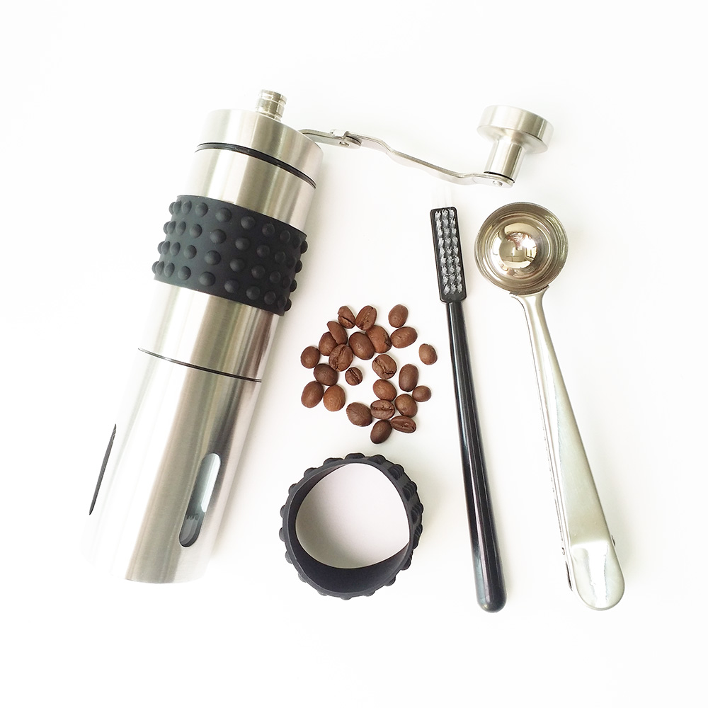 2016 stainless steel best manual coffee grinder for espresso