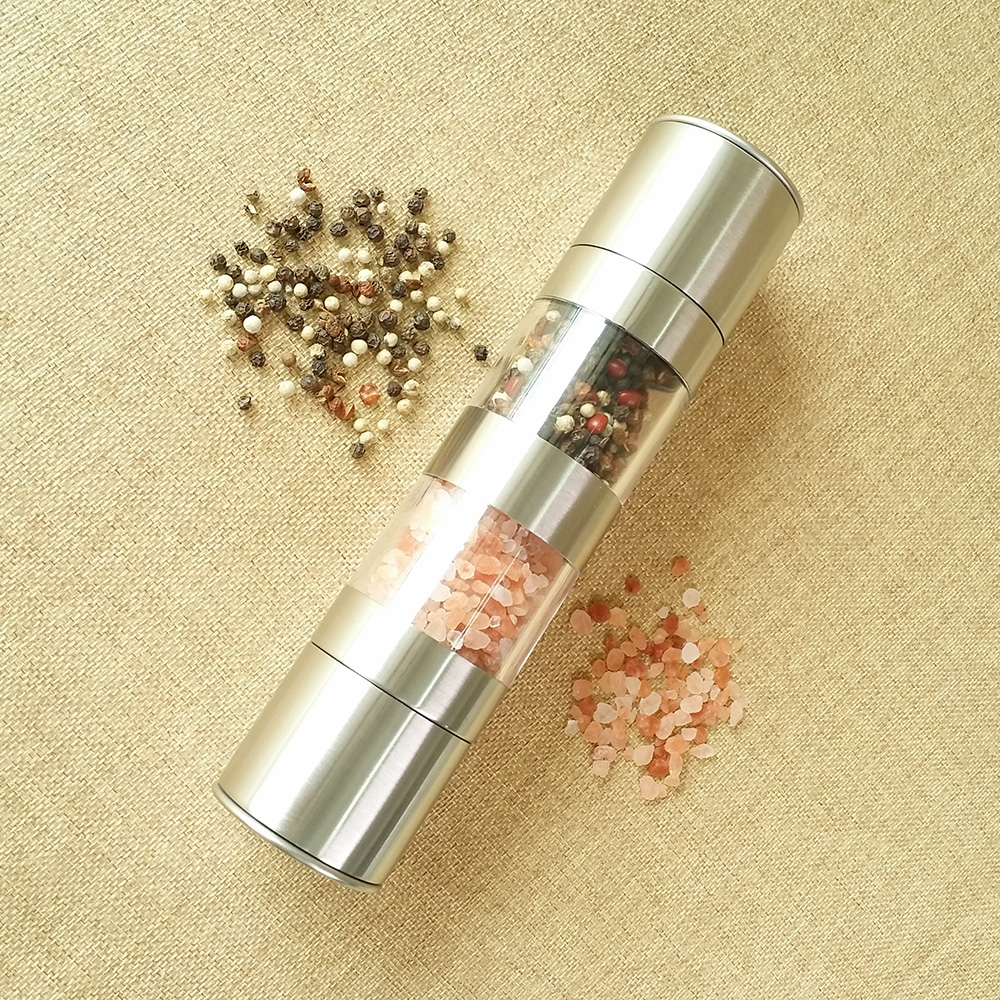 best manual salt and pepper grinders  2 in 1