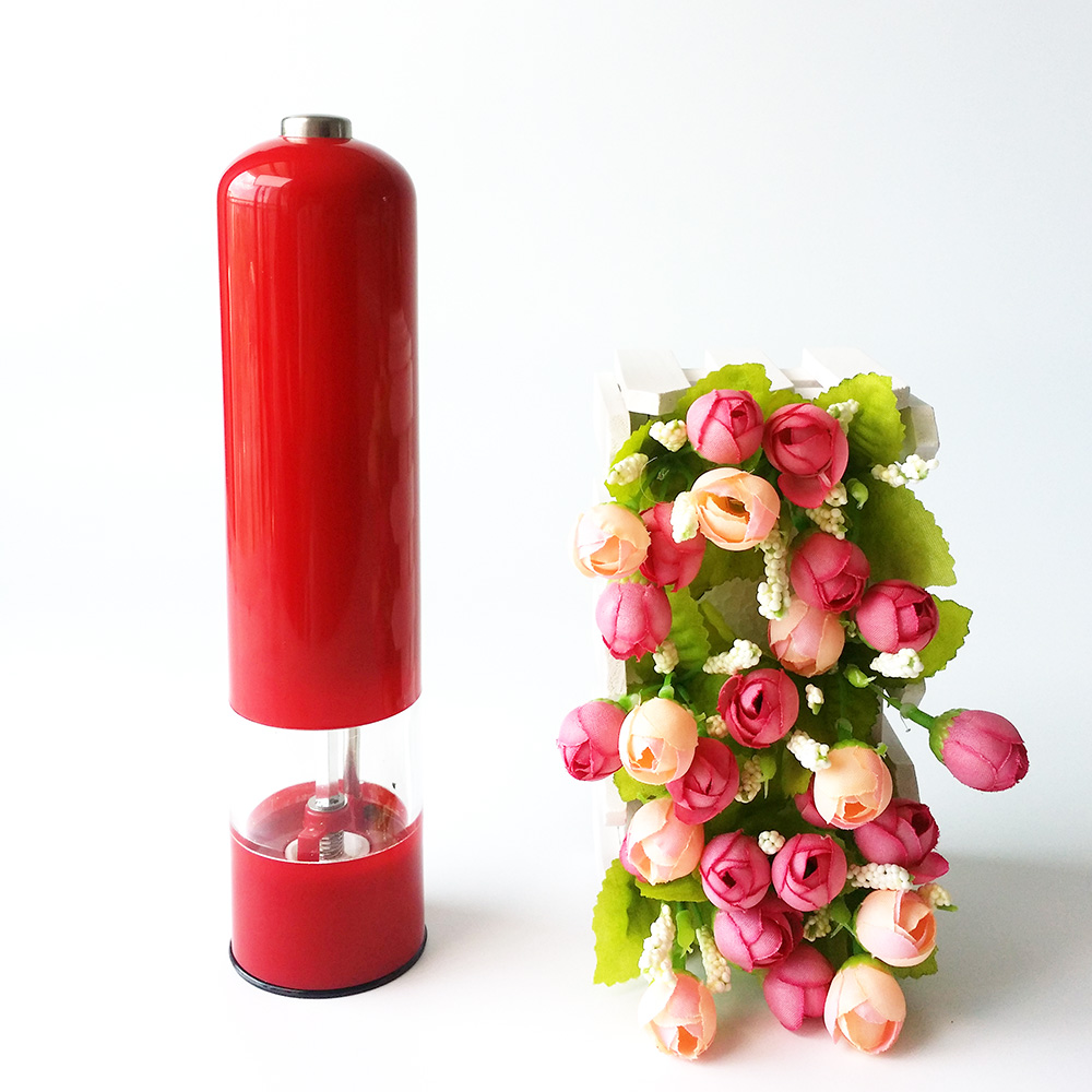 Food Grade Pepper Grinder Bottle Electric Salt and Pepper mill