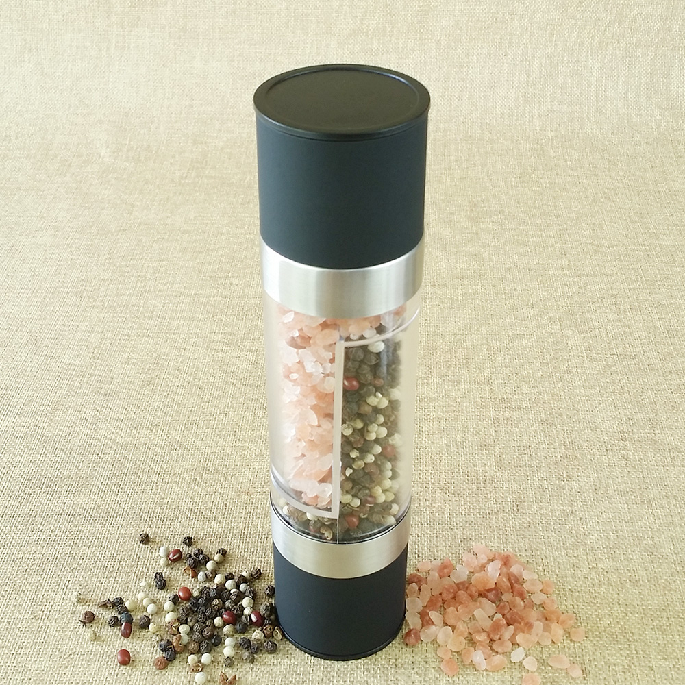 hand powered pepper mill grinder 2 in 1