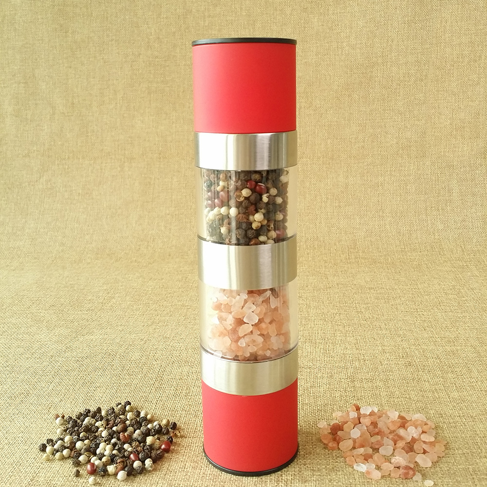 best manual salt and pepper mills set 2 in 1